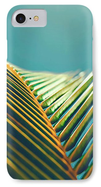 Palm Leaves In The Sun IPhone Case