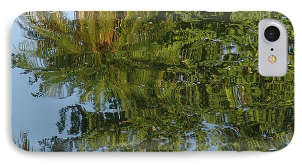 Palm Mirror Phone Case by Florene Welebny