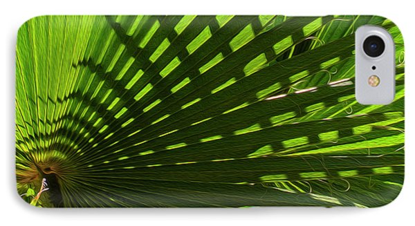 IPhone Case featuring the photograph Palm Pattern No.1 by Mark Myhaver