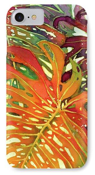 Palm Patterns 2 Phone Case by Deborah Younglao