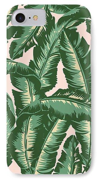 Palm Print IPhone 7 Case by Lauren Amelia Hughes