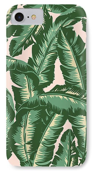 Palm Print IPhone Case by Lauren Amelia Hughes