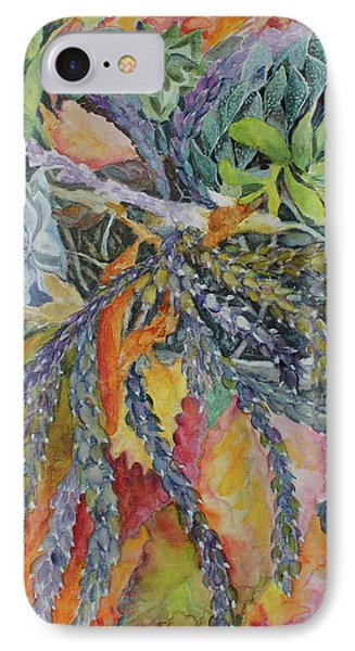 IPhone Case featuring the painting Palm Springs Cacti Garden by Joanne Smoley