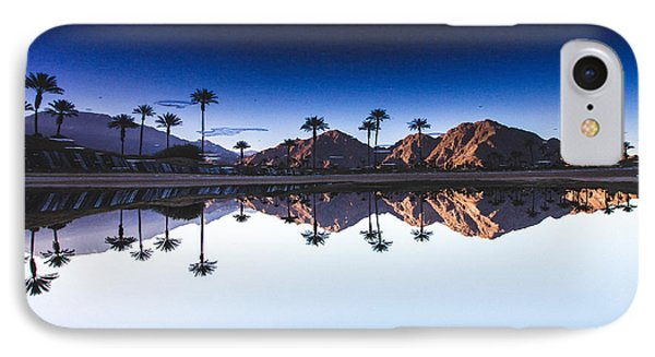 Palm Springs Reflection IPhone Case