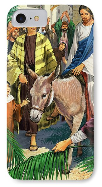 Palm Sunday IPhone 7 Case by Clive Uptton