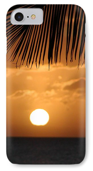 Palm Sunset Hawaii Phone Case by Dustin K Ryan