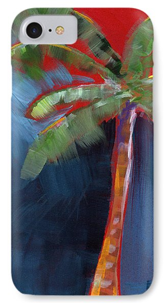 Palm Tree- Art By Linda Woods IPhone 7 Case