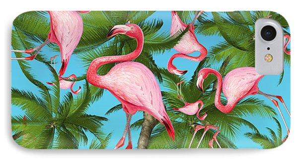 Palm Tree IPhone 7 Case by Mark Ashkenazi