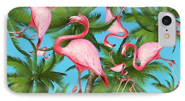 Palm Tree IPhone Case by Mark Ashkenazi