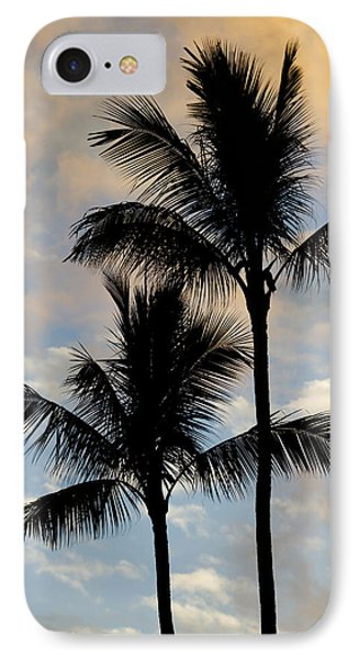 Palm Tree Sunset Hawaii IPhone Case by Dustin K Ryan