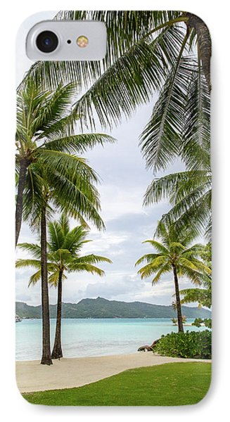 IPhone Case featuring the photograph Palm Trees 1 by Sharon Jones