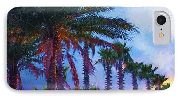 Palm Trees 3 IPhone Case by Glenn Gemmell