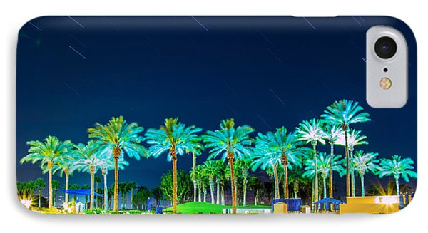 palm Trees IPhone Case by Hyuntae Kim