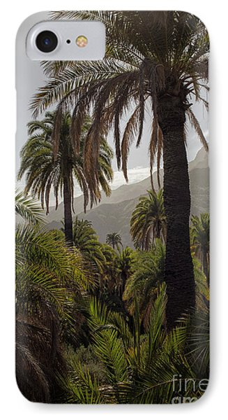 Palm Trees IPhone Case by Patricia Hofmeester