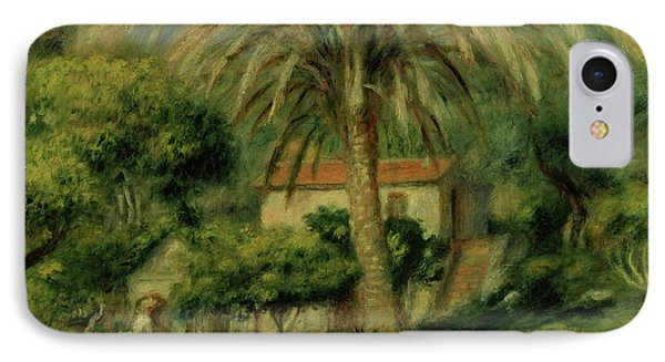 Palm Trees IPhone Case by Pierre Auguste Renoir