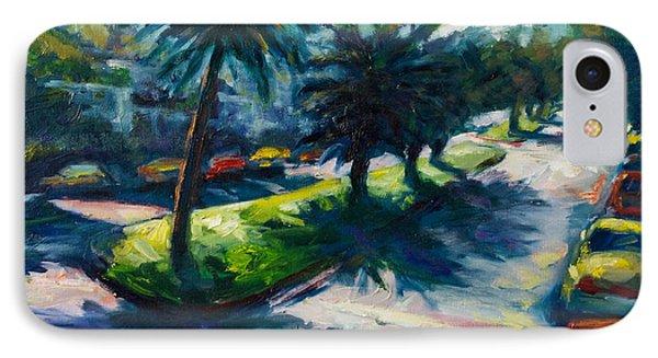 Palm Trees IPhone Case by Rick Nederlof