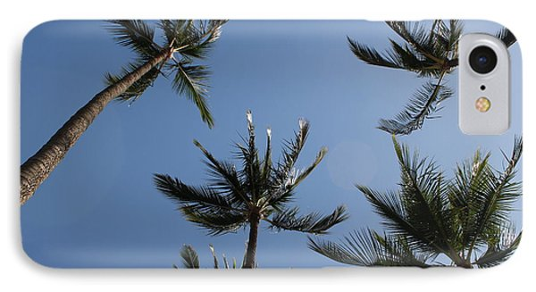 IPhone Case featuring the photograph Palm Trees by Wilko Van de Kamp