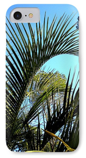 IPhone Case featuring the painting Palmetto 2 by Renate Nadi Wesley