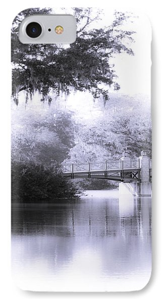 Palmetto Bluff Bridge IPhone Case by Mary Sparrow