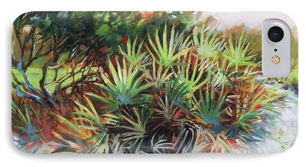 Palmetto Dance IPhone Case by Mary Hubley