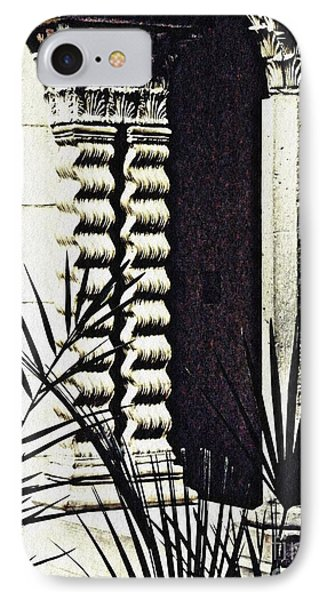 Palms And Columns IPhone Case