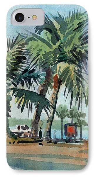 Palms On Sanibel Phone Case by Donald Maier