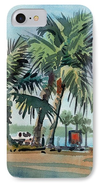 Palms On Sanibel IPhone Case by Donald Maier