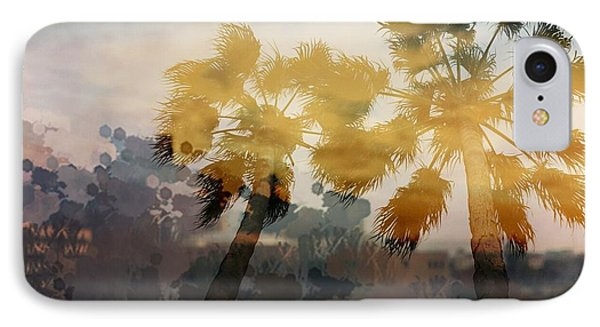 IPhone Case featuring the photograph Palms by Susan D Moody