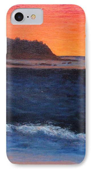 IPhone Case featuring the painting Palos Verdes Sunset by Jamie Frier