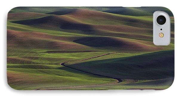 Palouse Abstract 1 IPhone Case by Mark Kiver