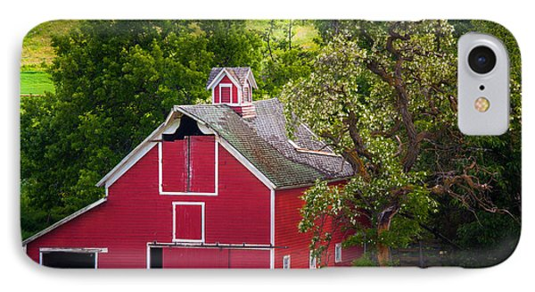Palouse Barn Number 9 IPhone Case by Inge Johnsson