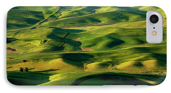 Palouse Contours Phone Case by Mike  Dawson