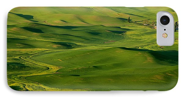 Palouse Spring Phone Case by Mike  Dawson