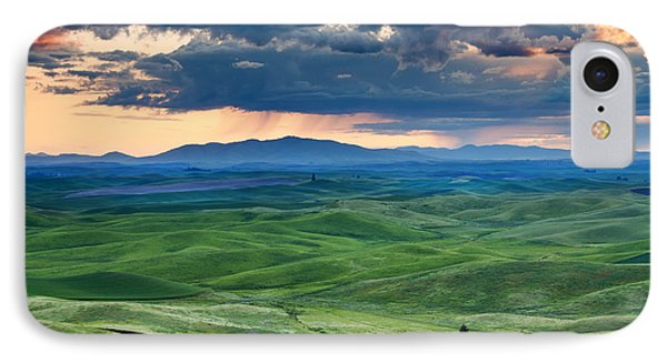 Palouse Storm IPhone Case by Mike  Dawson