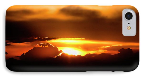 Palouse Sunset Phone Case by David Patterson