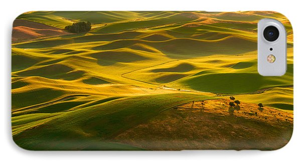 IPhone Case featuring the photograph Palouse Swells by Dan Mihai
