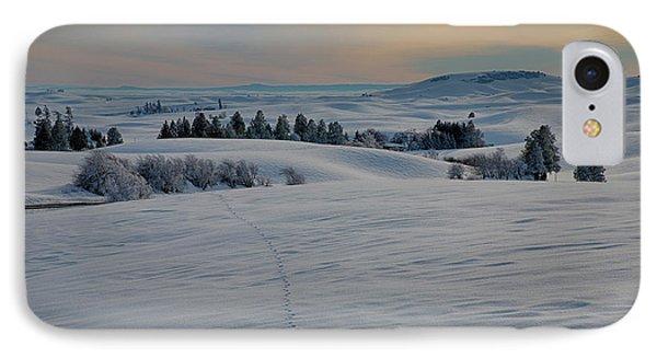 Palouse Tracks Phone Case by Idaho Scenic Images Linda Lantzy