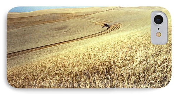 Palouse Wheat Phone Case by USDA and Photo Researchers