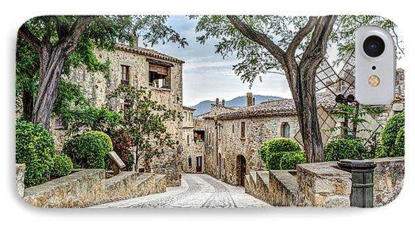 Pals Medieval Village IPhone Case by Marc Garrido