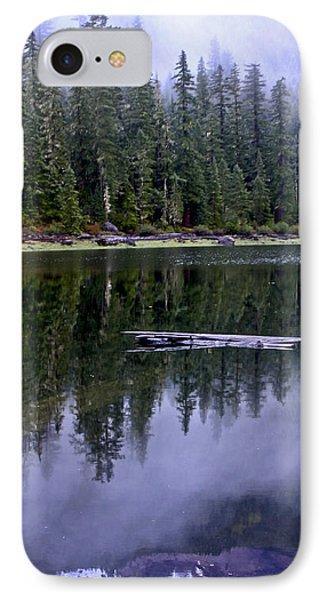 Pamelia Lake Reflection IPhone Case by Albert Seger
