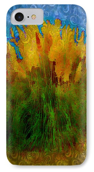 Pampas Grass IPhone Case by Iowan Stone-Flowers