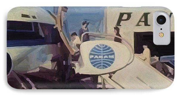 Pan American Airways Boeing 707 Phone Case by Nop Briex
