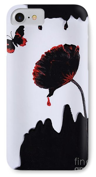 Pan Is Dead IPhone Case by Stanza Widen