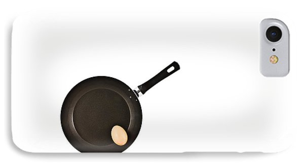 Pan With Egg IPhone Case by Gert Lavsen