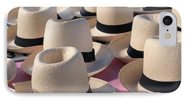 Panama Hats 3 IPhone Case by Douglas Pike