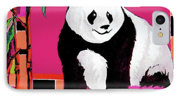 Panda Abstrack Color Vision  IPhone Case