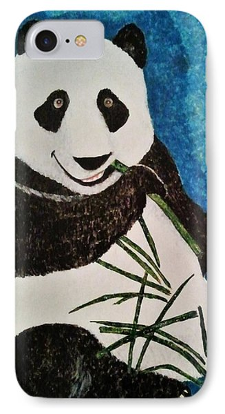 IPhone Case featuring the painting Panda by Jasna Gopic