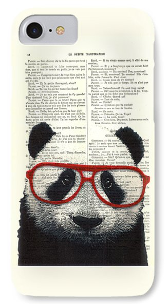 Panda Nursery Art IPhone Case