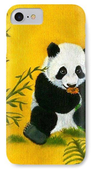 Panda Power IPhone Case