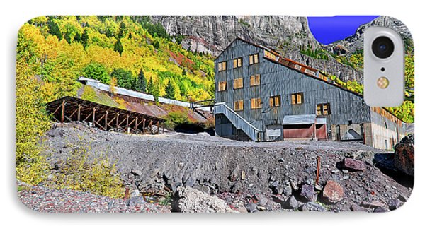 IPhone Case featuring the photograph Pandora Mill - Telluride - Colorful Colorado by Jason Politte
